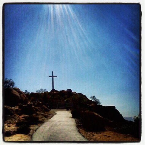 Mt. Rubidoux in Riverside